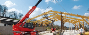 Renting a telehandler will improve your company services
