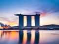 Why is Singapore a good location for starting your life over?